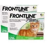 Frontline cat 12 spot on flea treatment