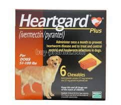 HEARTGARD PLUS brown for dogs
