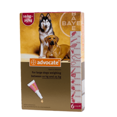 ADVOCATE 3 PACK LARGE DOGS 20-55 LBS
