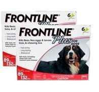 FRONTLINE PLUS FOR DOGS 12 doses