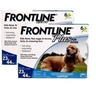 Frontline Plus for medium dogs 12 doses