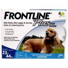 Frontline plus Medium_Dog 6 doses