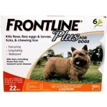 Frontline_Small_Dog 6 doses spot on