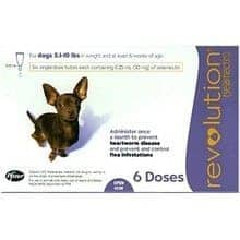 revolution for dogs 6 doses