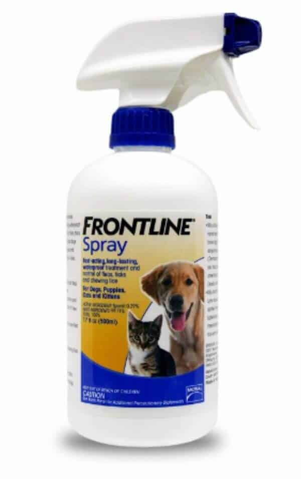 Flea and Tick Treatment Dog Cat Spray